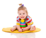 Baby playing Royalty Free Stock Images