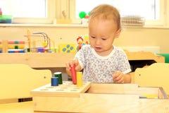 Baby playing Stock Photos