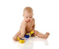 Baby playing Stock Photo