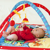 Baby playing stock images