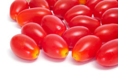Baby plum tomatoes Royalty Free Stock Photos