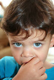 A baby portrait Stock Image