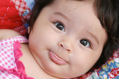 Baby portrait. Royalty Free Stock Photos