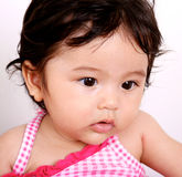 Baby portrait. Royalty Free Stock Image