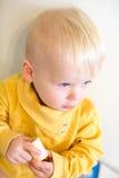 Baby portrait. Stock Photo
