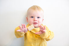 Baby portrait. Royalty Free Stock Photo