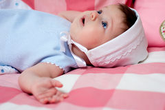 Baby portrait Royalty Free Stock Images