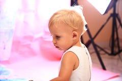 Baby posing Stock Photo