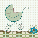 Baby postcard Stock Images