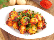 Baby Potato Fry Royalty Free Stock Photos