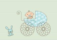 Free Baby Pram Royalty Free Stock Photos - 12441318