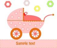 Baby Pram Stock Photo