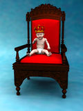 Baby prince Stock Images