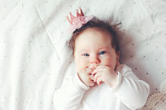 Baby princess Stock Photo