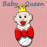 Baby Queen-illustration Royalty Free Stock Photography