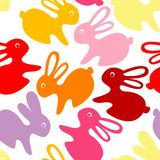 Baby rabbit ornament Royalty Free Stock Images