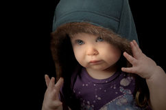 Baby Rapper Royalty Free Stock Photography