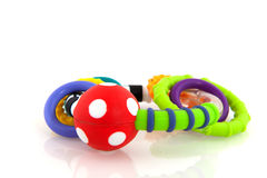 Baby rattle Stock Image