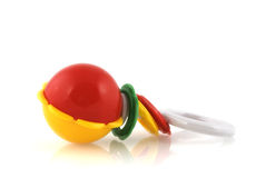 Baby-rattle Stock Photography