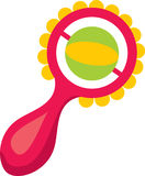 Baby Rattle Toy Royalty Free Stock Photography