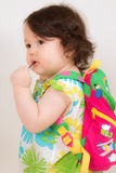 Baby Ready for School Stock Image
