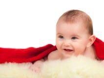 Baby on white background Stock Image