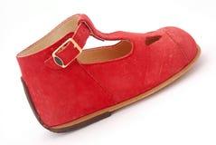 baby red shoe Стоковое Изображение RF