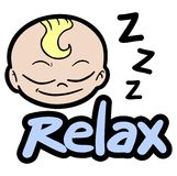 Baby relax Stock Photography