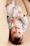 Baby relaxing Royalty Free Stock Image