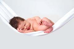 Baby relaxing Stock Photos