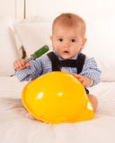 Baby repairman Stock Photos