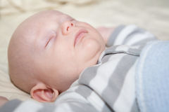 Baby at Rest Royalty Free Stock Images