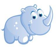 Baby rhino cartoon Stock Photos