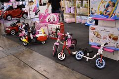 Baby Riders Royalty Free Stock Image