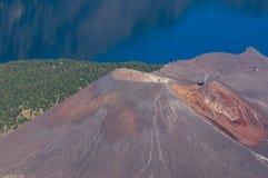 Baby Rinjani volcano mountain Royalty Free Stock Photo