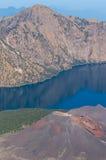 Baby Rinjani volcano mountain landscape Royalty Free Stock Photography
