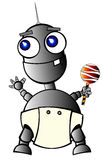 Baby-robot Royalty Free Stock Photo