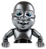 Baby robot Stock Photography