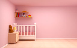 Baby room Royalty Free Stock Photo