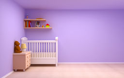 Baby room vector illustration