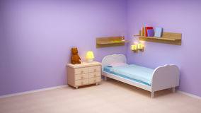 Baby room Royalty Free Stock Image