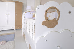 Baby room. With new furniture stock image