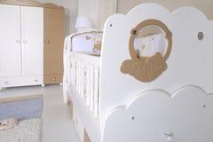 Baby room stock image