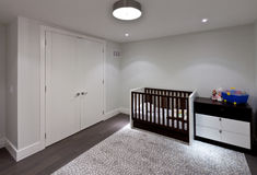 Baby room Stock Image