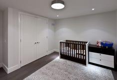 Baby room. Empty baby room in new luxury house Stock Image