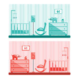 Baby Room. Royalty Free Stock Photos