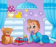 Baby room theme image 2 Royalty Free Stock Photo
