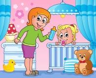Baby room theme image 3 Stock Photo