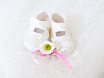 Baby's accessories Royalty Free Stock Photos