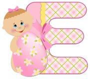 Baby's alphabet Royalty Free Stock Photography